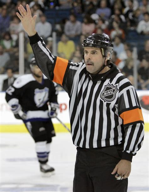 Nus Mba Referee Report by Consistency Propelled Nhl Referee Bill Mccreary To The