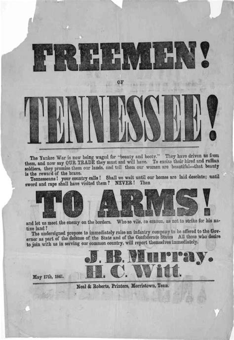 civil war | Civil War Posters - Union & Confederate