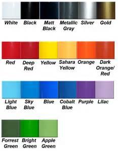 2015 dodge ram color chart autos post