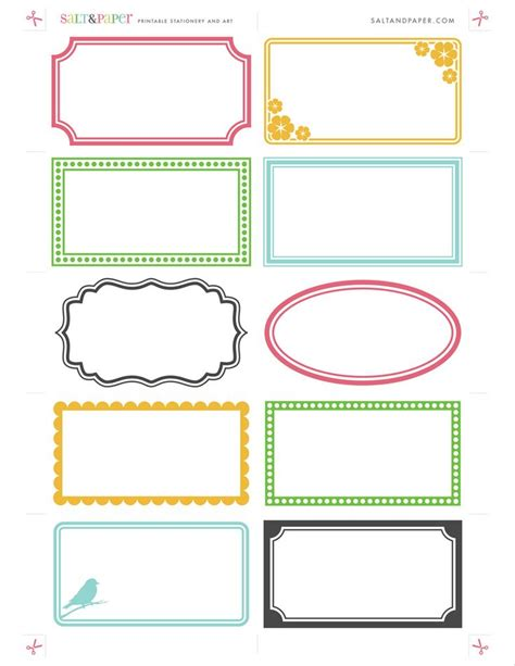 Free Template For Labels For Cards Western by 25 Best Ideas About Free Label Templates On