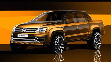 volkswagen amarok 2016 2016 vw amarok facelift teased