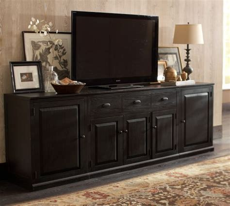 leighton low media suite pottery barn home sweet home