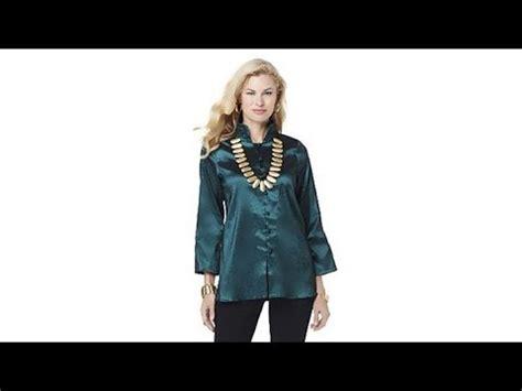 Evony Tunik Top Blouse Hq marlawynne jeweltone taffeta boxy shirt tunic
