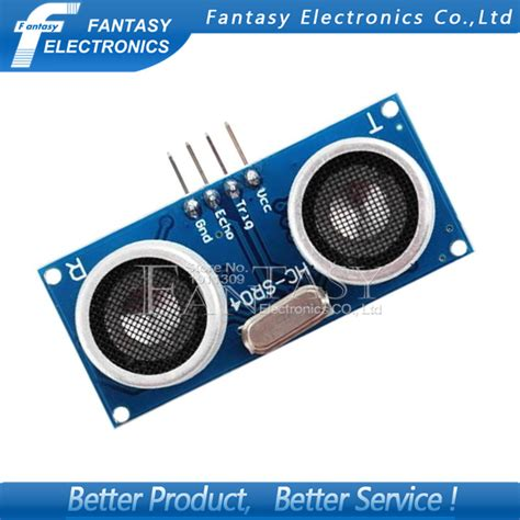 Sensor Ultrasonik Hcsr 04 2pcs ultrasonic module hc sr04 distance measuring