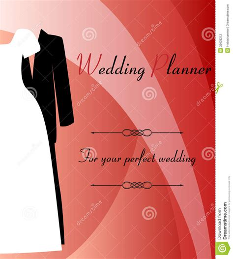 Background Of Wedding Planner by Wedding Planner Background Stock Vector Image Of
