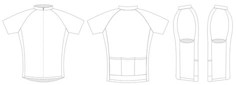 cycling jersey template vector joy studio design gallery