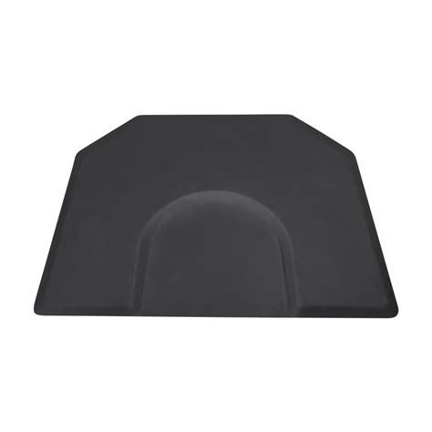1 Inch Salon Mat - hexagon 4x5 anti fatigue salon mat comfortmax
