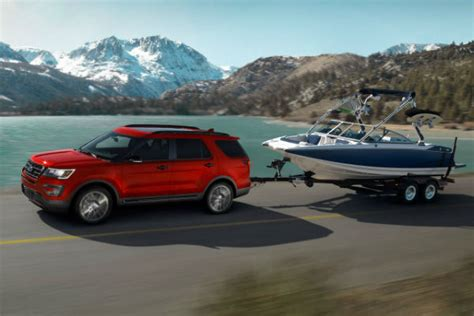 Towing Capacity Ford Explorer by What Is The Towing Capacity Of The 2017 Ford Explorer