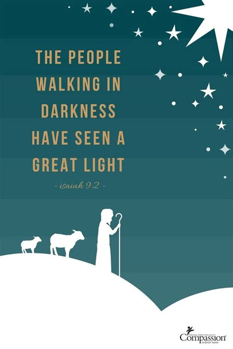 people walking  darkness    great light isaiah  merry christmas eve