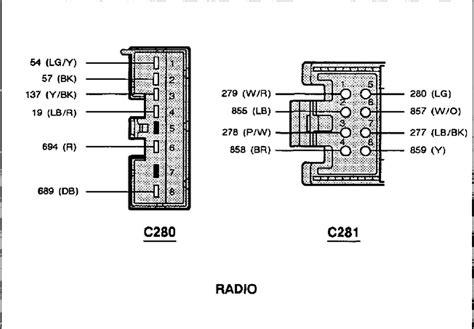 ford ranger radio wiring diagram wire diagram