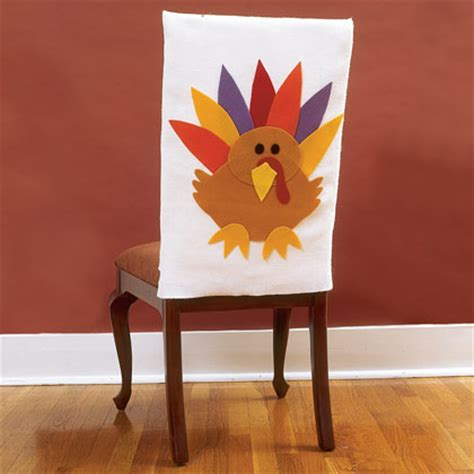 Thanksgiving Chair Covers by How To Make Turkey Chair Covers General Arts Crafts