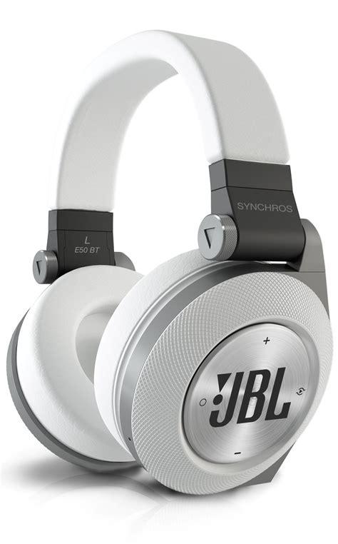 Headphone Jbl E50bt jbl e50bt white premium wireless ear bluetooth stereo headphone white home