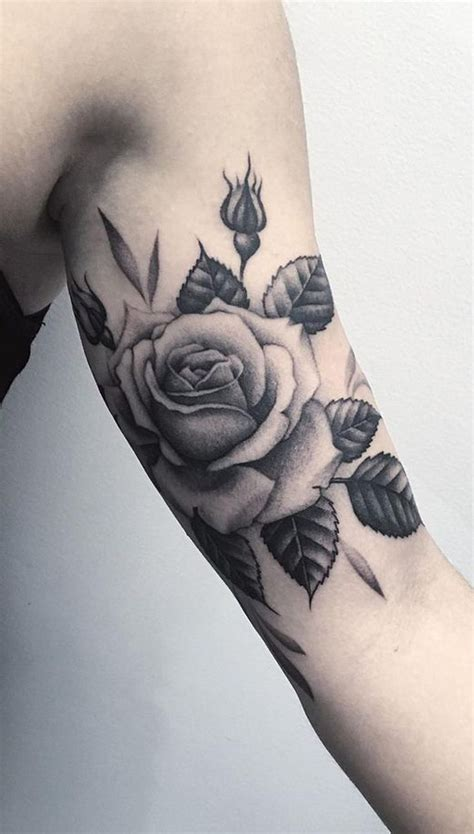 rose tattoos on the arm best 25 realistic flower ideas on