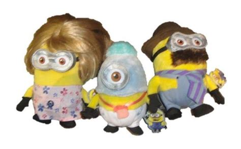 minion slippers universal studios despicable me minion baby family plush