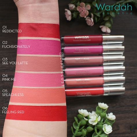 Lip Wardah Lipcream Lipgloss Matte 1 1 wardah exclusive matte lipcream wardah lip