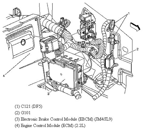 electronic throttle control 2005 saturn ion engine control saturn vue pcm location get free image about wiring diagram