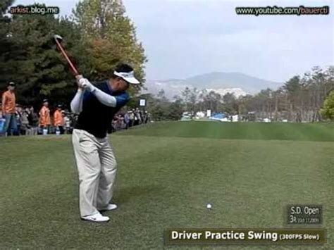 practice swing 300fps slow kj choi driver with practice swing 7