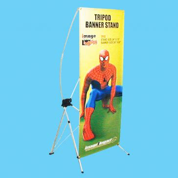 Tripod X Banner ddi signs tripod banner stand portable x banner stands