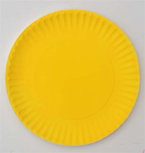 Sun Paper Plate Craft - easy paper plate sun for day of summer