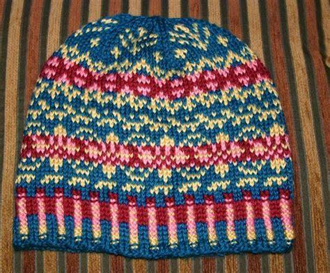 fair isle knit stranding or fair isle knitting