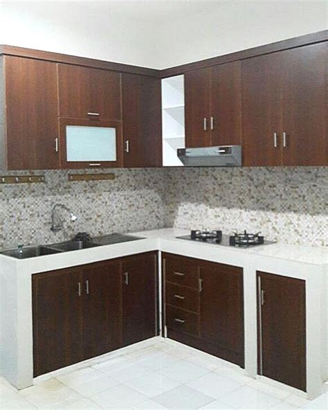 layout dapur kecil 100 kitchen set minimalis modern other 30 desain