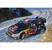 Monte Carlo WRC Ogier Seals Win On M Sport Debut