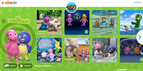 backyard nickelodeon image nickjr com the backyardigans nickelodeon nick jr
