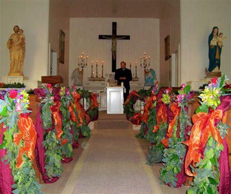 fall wedding church decorations church pew wedding decorations newhairstylesformen2014