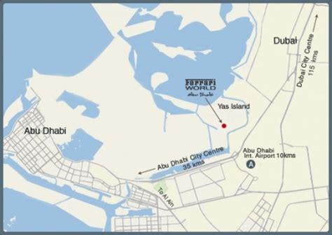 abu dhabi map location oriente medio arquitectura y urbanismo skyscrapercity