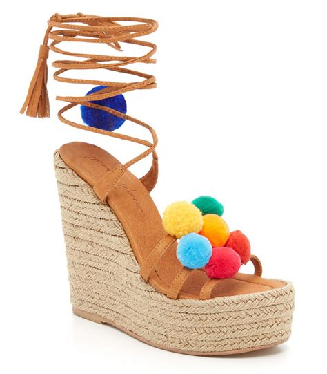Wedges Pom Pom pom pom sandals shoe trend for 2016