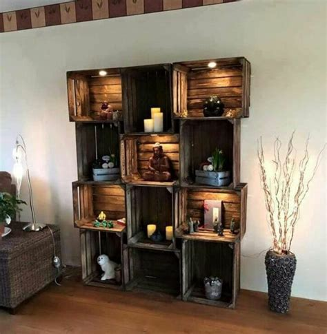 Design Ideas For Etagere Furniture 1001 Id 233 Es Pour Fabriquer Une 233 Tag 232 Re En Cagette Soi M 234 Me