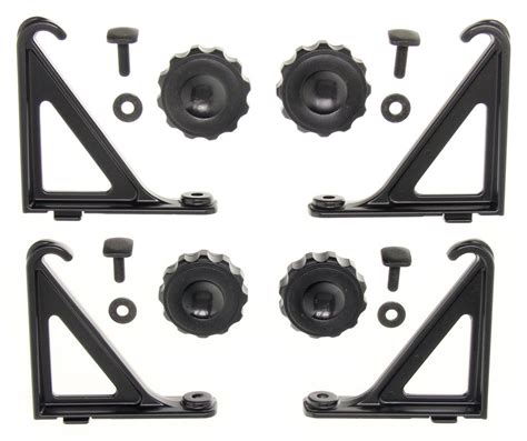 Ladder Rack Parts by Load Stops For Thule Ladder Rack And Aeroblade Load Bars Qty 4 Thule Accessories And Parts 753