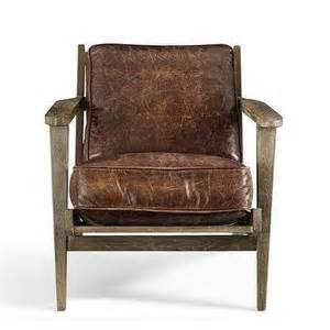 worn leather armchair seating products bookmarks design inspiration and