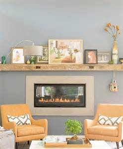 Fireplace With No Mantle by Mantle No Fireplace Needed Home Decor