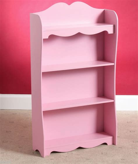 room pink princess bookshelf storage cabinet unit