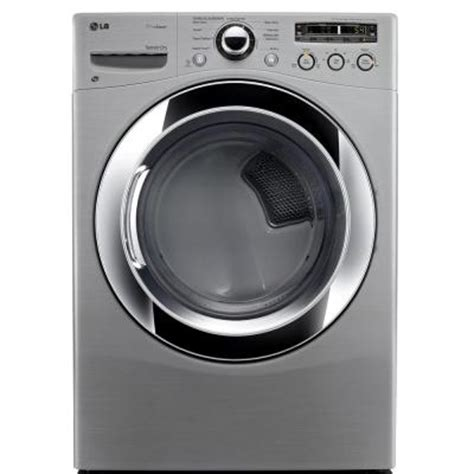 lg electronics 7 3 cu ft electric dryer with steam in