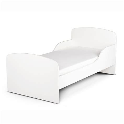 plain white bedding plain white mdf toddler bed new kids bedroom ebay