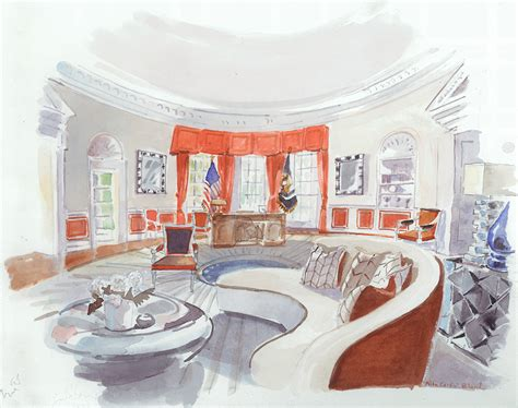 oval office layout 5 designers white house interiors for clinton and trump