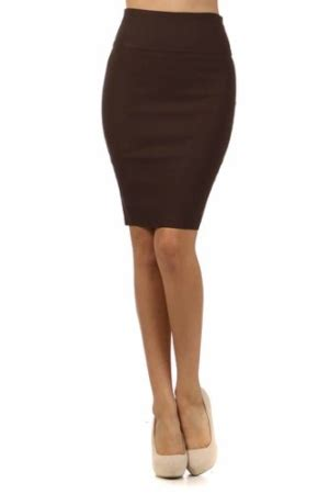 Bow Accent Pencil Skirt pencil skirt bow