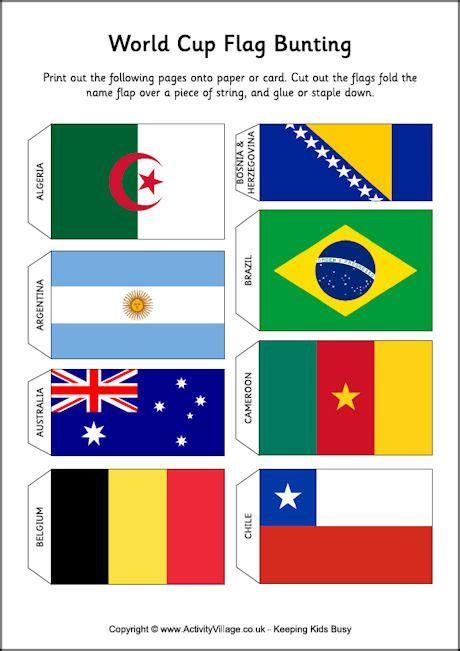 printable bunting flag world cup flag bunting free printable print and or
