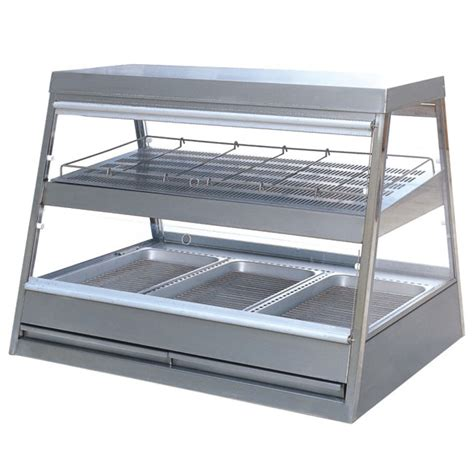 Cake In Toaster Oven Food Warmer Display Case Chips Warmer Tier Curved Glass