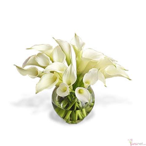 arreglos florales en floreros de vidrio flores fiorinet 174 florerias 24 alcatraces en florero de