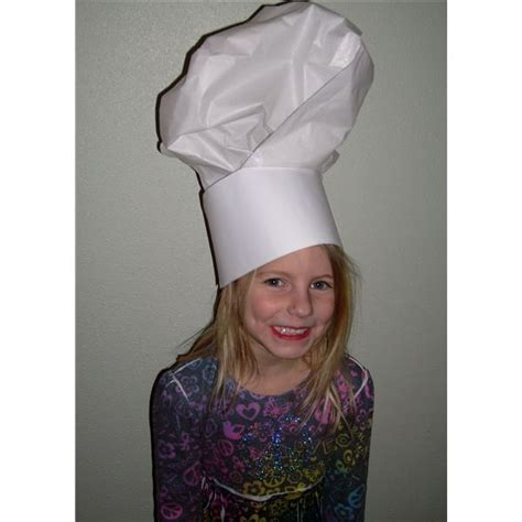 chef hat craft for toddler crafts chef hat step by step guide