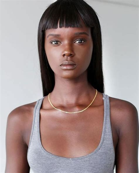Duckie Thot   Model Profile   Photos & latest news   Models   Pinterest   Models and Black models