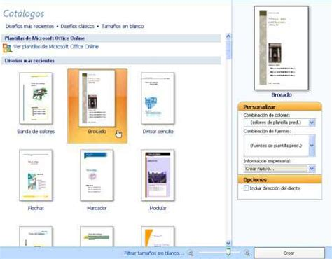 Plantilla De Curriculum Publisher Aulaclic Curso Gratis De Microsoft Publisher 2007 1 Un Tour A Publisher 2007
