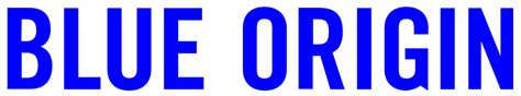 blue logo file blue origin new logo svg