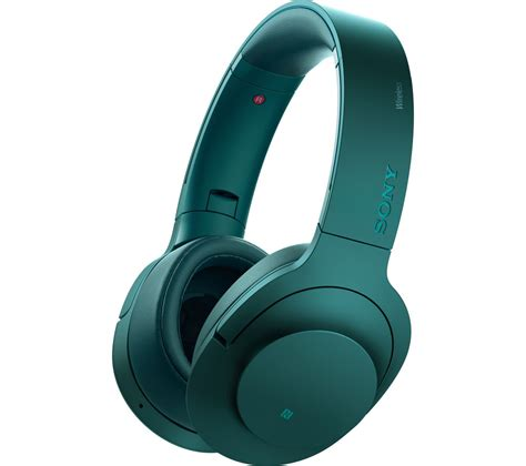 buy sony mdrabnl wireless bluetooth noise cancelling headphones blue  delivery currys