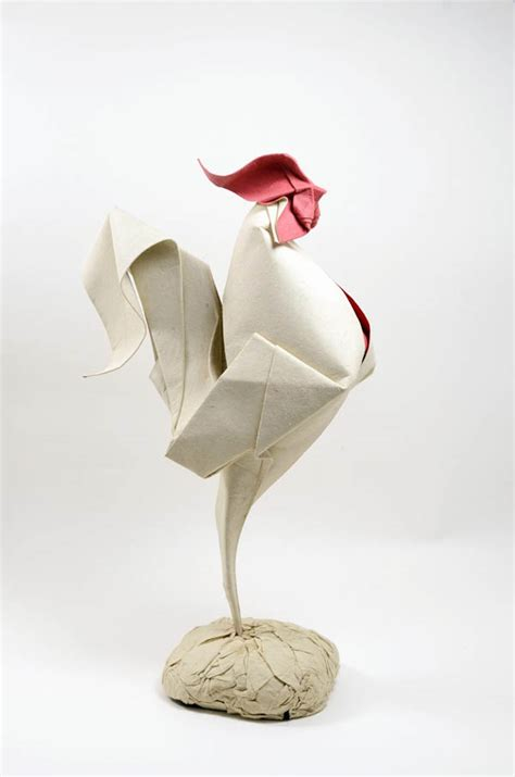 Curved Paper Folding - amazing curved origami animal created by using folding