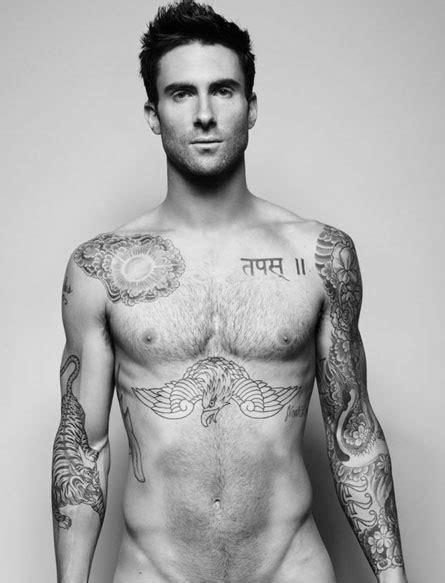 der oberkoerper tattoos