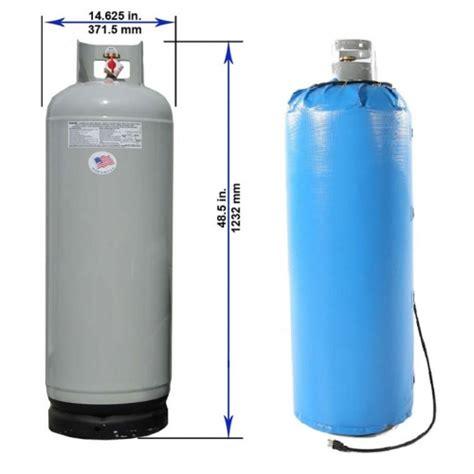 100 lb propane tank propane tank heated wrap gcw100